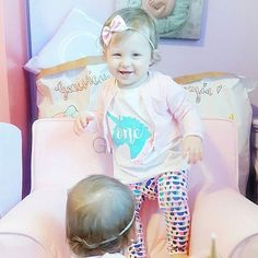 """I spy a couple of personalised storage sacks 😍 Aren't these twins just the cutest pair?! Happy Birthday girls 😘😘 📷@werethejoneses 💕 Also, if you'd like to take advantage of exclusive offers and discounts on our products, all the latest news and more OR if you just LOVE @handmadeheartshop, please check out our new Facebook VIP group! (Search """"Handmade Heart VIPs"""" and request to join ❤) • • • • • #handmade #storage #storagesack #personalised #custom #etsy #etsyshop #interiorinspiration…"""
