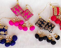 Saree Tassels Designs, Saree Kuchu Designs, Kids Blouse Designs, Zardozi Embroidery, Gold Embroidery, Hand Embroidery Designs, Traditional Blouse Designs, Wedding Lehenga Designs, Baby Girl Birthday Dress