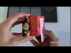 Envelope Punch Board Video Tutorial Great tutorial for rectangular boxes to fit cards, plus dimensions for smaller rectangular boxes.