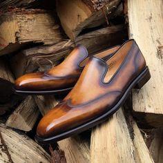 Nové ručně barvené #boty z naší dílny.