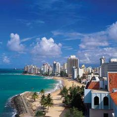Puerto Rico...this one has been on the list for donkey years. Puerto Rico - one day it will be you and me.