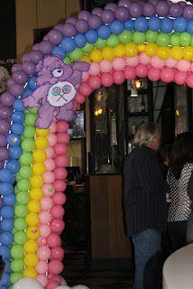 Tubby Balloonz' Rainbow Arch www.Facebook.com/tubbyballoonz