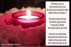 Gedicht Dit lichtje is voor jou