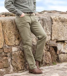 Hoggs Moleskin Jeans by Hoggs of Fife. Hoggs moleskins use only the finest, 100% brushed cotton cloth