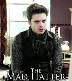 Sebastian Stan as the Mad Hatter in Once Upon A Time