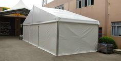 300 People capability PVC sidewalls events tent [MS series] - Standard Tent - Superb Tent Manufacturer
