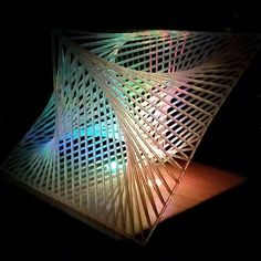 Something we liked from Instagram! 3 Dimensional Parabolic Curve. A small sculptural piece created in  Solidworks and printed in resin using an SLA printer and illuminated with colour changing LED's. #3d #3dart #3dmodel #3dprinting #3dprinter #3dprint #3dprinted #sla #sculpture #3ddesign #solidworks #led #lamps #lamp #conceptdesign #parabolica by david_haggerty_art check us out: http://bit.ly/1KyLetq