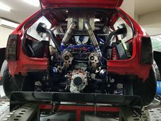 Custom Opel Corsa with a Mid-Engine Twin-Turbo Audi – Engine Swap Depot Space Frame, Engine Swap, Mechanical Design, Twin Turbo, Diesel Engine, Cars And Motorcycles, Old School, Ferrari, Volkswagen