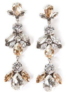 MARINA FOSSATI Drop Pendant Earrings