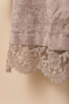 Babydoll Coat Lace