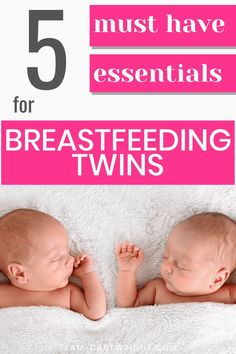 Must-Have Supplies for Breastfeeding Twins. Get the essential list of what you need to successfully breastfeed twins. Tips to help tandem feed, keep your twins on a schedule, keep up  milk supply, and more.  All from a twin mom who exclusively breastfed her twins for 15 months. Breastfeeding twins supplies. Tips for breastfeeding twins. #breastfeedingtwins #twins #twintips #newborntwins #babytwins Team-Cartwright.com Breastfeeding Twins, Newborn Twins, Baby Twins, Baby Feeding Chart, Baby Feeding Schedule, Twin Mom, Twin Babies, Twin Nursing Pillow, Twins Schedule