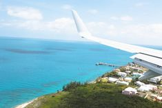 Landeanflug auf Bermuda