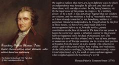 THOMAS PAINE'S COMMON SENSE (1776): A Prophetic Warning to America