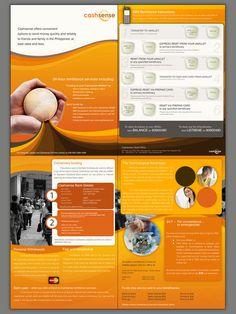 Cashsense Brochure by jpdguzman.deviantart.com on @deviantART