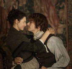 #DragonflyInAmber #OutlanderSeason2 #JamieAndClaire