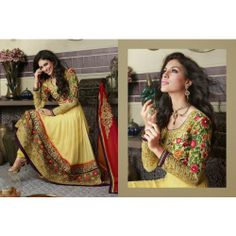 Online Shopping for Pure georgette salwar suit with Res | Salwar Suit | Unique Indian Products by ZAHARA - MZAHA57914539010