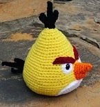 2000 Free Amigurumi Patterns: Chuck the Angry Bird