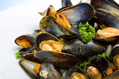 Mussels in white Wine Sauce!