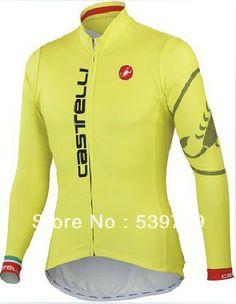 2013 Castelli Women Winter Thermal Fleece Long Sleeve Cycling Jerseys Compression Bike Jacket Female Ciclismo Clothing Kit