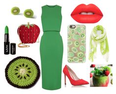 """""""Strawberry Kiwi Cocktail"""" by purplesmoothiee on Polyvore"""
