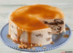 Receita de Semifrio de caramelo. Descubra como cozinhar Semifrio de caramelo de maneira prática e deliciosa com a Teleculinária!