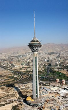 Milad Tower, Tehran, Iran (435m)