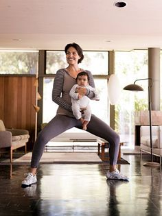 Quickie No. 4Pliés and   walking lunges
