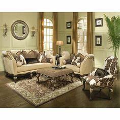 Benettiu0027s Italia Inc SA Salermo Living Room Set Italian Living Room,  Classic Living Room,