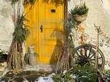 pretty yellow door.