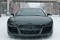 The Audi R8 is a serious supercar and  turns heads. #dreamcar?