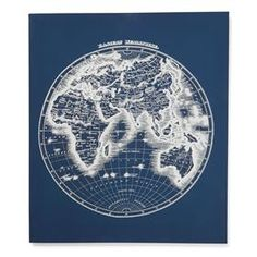 World map canvas print joss main furnish this home world map canvas print joss main furnish this home pinterest kitchen accessories kitchens and walls gumiabroncs Images