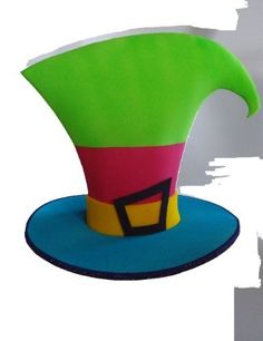gorros locos de goma eva - Buscar con Google Foam Crafts, Diy And Crafts, Arts And Crafts, Paper Crafts, Shadow Puppets, Fantasy Costumes, Baby Costumes, Candyland, Party Hats