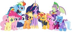 Explore the MLP: FIM collection - the favourite images chosen by on DeviantArt. My Little Pony List, My Little Pony Pictures, My Little Pony Friendship, Dessin My Little Pony, My Little Pony Drawing, Equestria Girls, Cumple My Little Pony, Phineas Y Ferb, 9th Anniversary