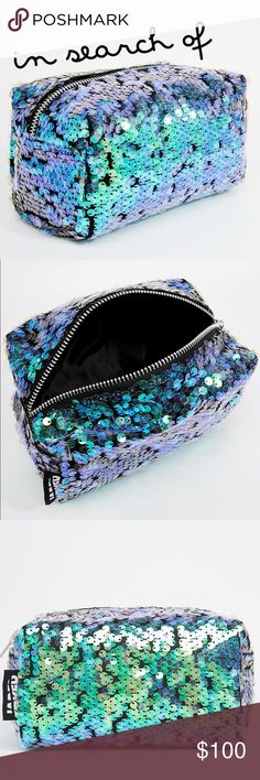 ISO Jaded London Mermaid Sequin Makeup Bag Do not buy this listing. In search of Jaded London Mermaid Sequin Makeup Bag. NWT or NWOT please. Jaded London Bags Cosmetic Bags & Cases