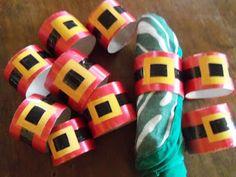 Reciclaje con Artesania: Servilleteros navideños reciclados