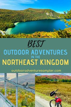 The Northeast Kingdom of Vermont has outdoor adventures for all abilities. Try hiking at Lake Willoughby and Burke Mountain. Enjoy mountain biking on the Kingdom Trails. Scenic rail trails for biking in the Lamoille Valley and past Lake Memphremagog too. Camping and outdoor activities for all ages in this remote corner of Vermont. Us Travel, Places To Travel, Travel Destinations, Places To Visit, Burke Mountain, Swimming Program, Best Hikes, Romantic Getaways, Outdoor Adventures
