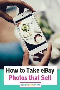 Looking to sell items on eBay and make some extra cash? Check out these tips to taking awesome photos that sell!   Smart Cents Mom #selling Easy Money Online, Make Easy Money, Crafts To Make And Sell, Make Money From Home, Ebay Selling Tips, Selling Online, Extra Cash, Extra Money, Online Side Jobs
