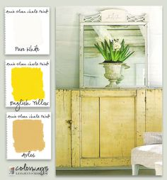 Colorways with Leslie Stocker »Do you find English Yellow…. a little too green? Mix with Arles for a more yellow yellow