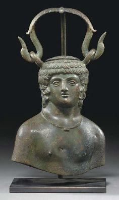 A ROMAN BRONZE BALSAMARIUM CIRCA 2ND-3RD CENTURY A.D.