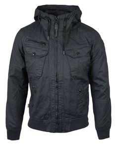 Chasin' 7111108035 Lewis Striker jack blauw - Deze voorjaarsjas van Chasin' is de Lewis Striker. Deze jas heeft een ruige uitstraling door d...