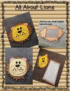 All About Zoo Animals-CRAFTS (13 different zoo animal crafts) |