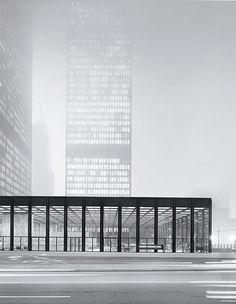 Toronto-Dominion Center by Ludwig Mies van der Rohe, 1967-1969. Photograph by Balthazar Korab. / Archpaper