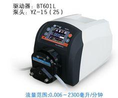860.00$  Watch now - http://alii9y.worldwells.pw/go.php?t=32753388619 - BT601L YT25 Plastic Intelligent peristaltic pump Adjustable High Big Flow Control Lab Liquid Pump 0.17-2900ml/min