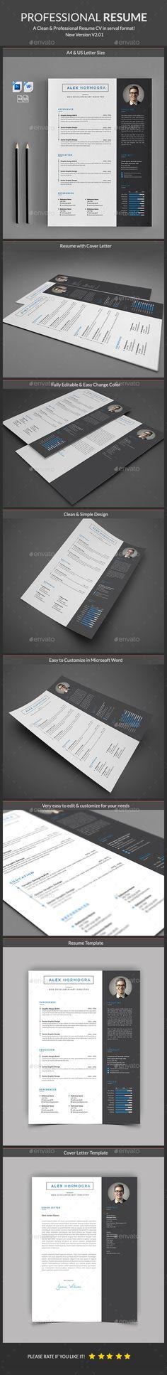 Resume Resume cv, Cv template and Resume ideas - visual resume template