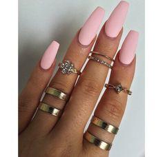 Nails and rings <3