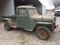 Willys Truck Tailgate Jeeptruck Com For Sale 1954