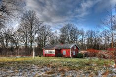 The red cottage...