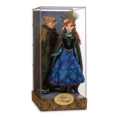 Disney Limited Edition Anna and Kristoff Doll Set - Disney Fairytale Designer Collection. Released November 2015