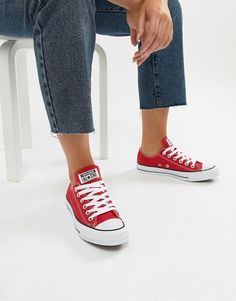 4bf6c249fde5 Converse Red Chuck Taylor Sneakers