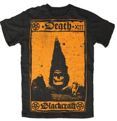 death card - limited orange x black craft cult.  I wear the hell out of this shirt.